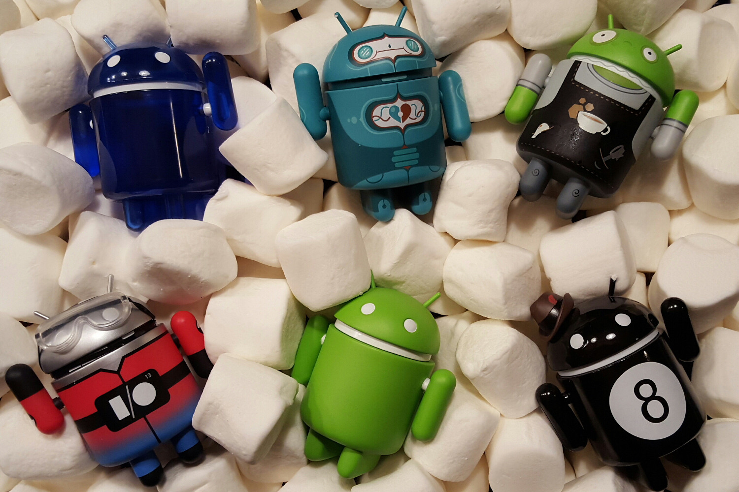 More than 600 Android-running phone models were launched this past year