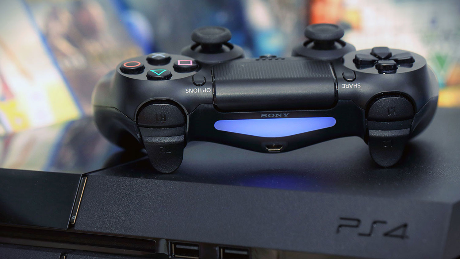 Leak suggests the PlayStation 4 Slim will introduce an updated controller, too