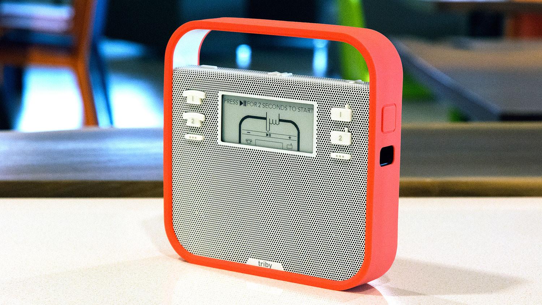 Meet Triby, a kid-friendly fridge speaker with Alexa inside (but no Amazon badge)