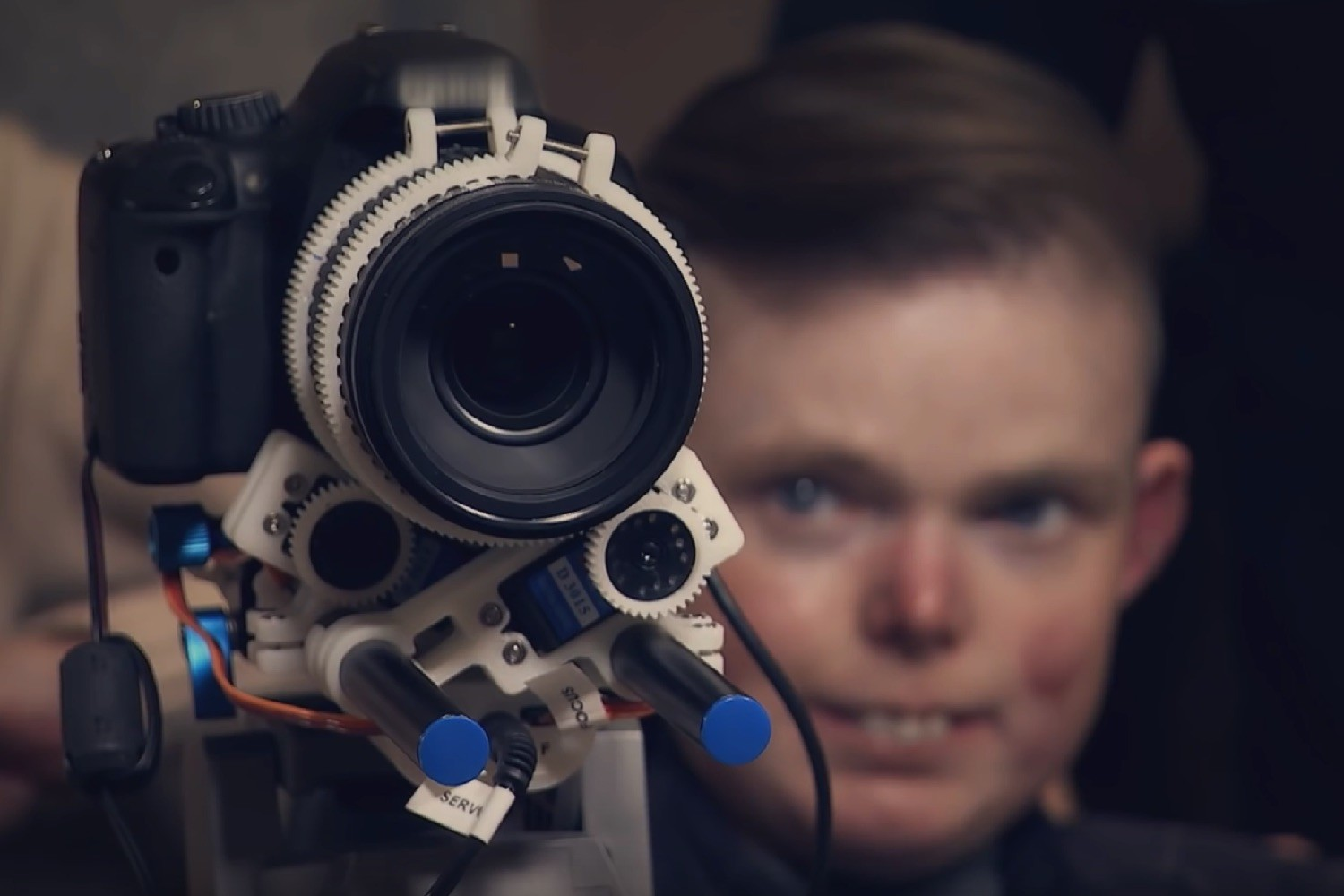 3D-printed camera rig helps terminally ill photographer to take pictures