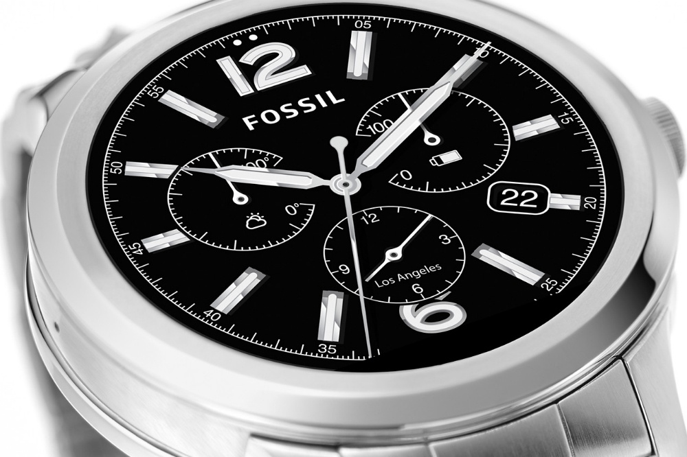 Fossil's big, bold Q Founder smartwatch is yours today for $295