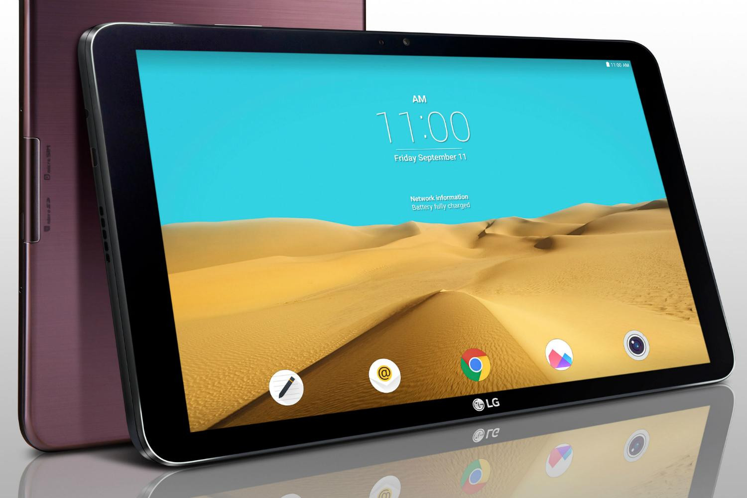 Save $110 on the battery-friendly LG G Pad 2 10.1-inch Android Tablet