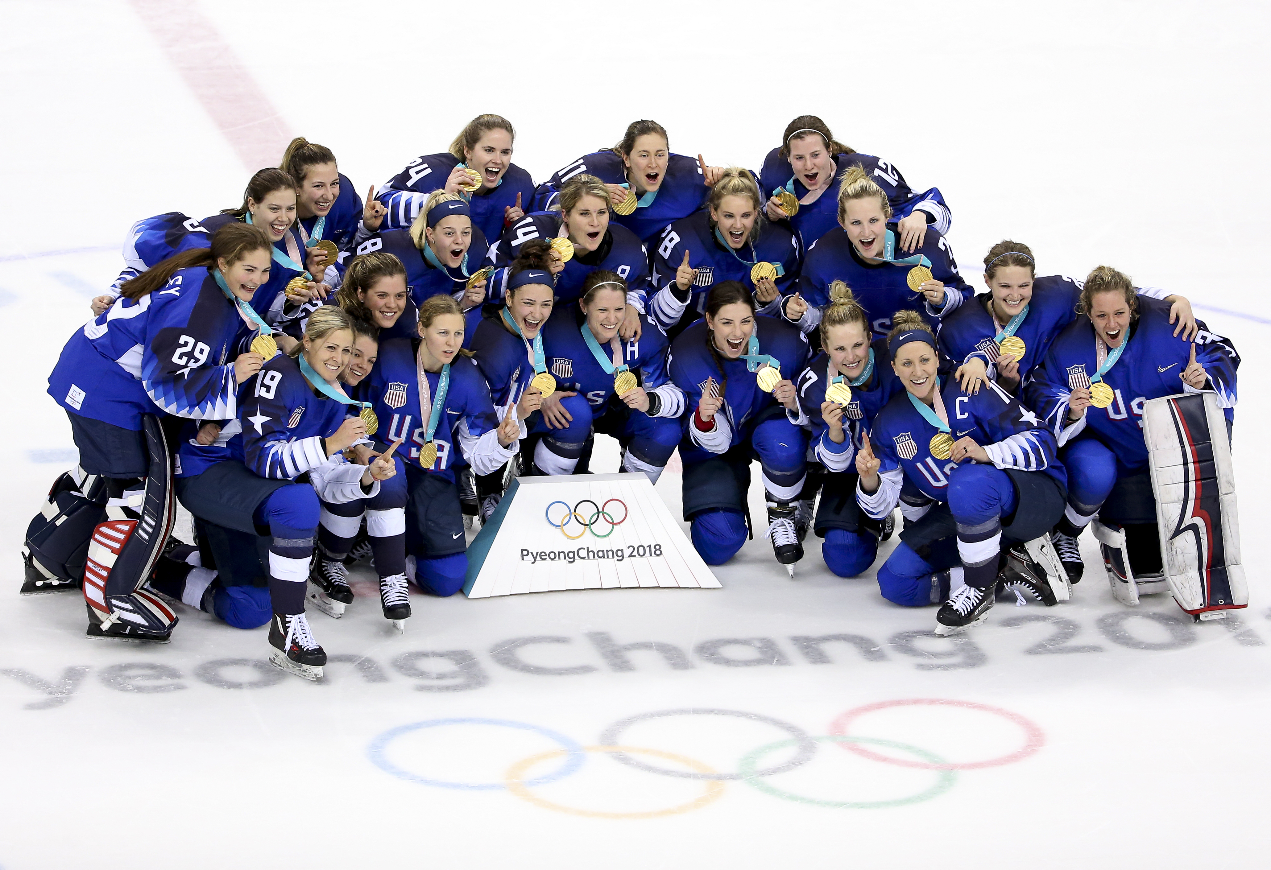 Before the USA Women's Hockey Team Clinched Gold, They Fought for Equal Pay