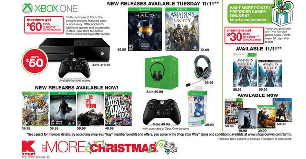 $350 Xbox One Deal at Kmart Next Month - Report