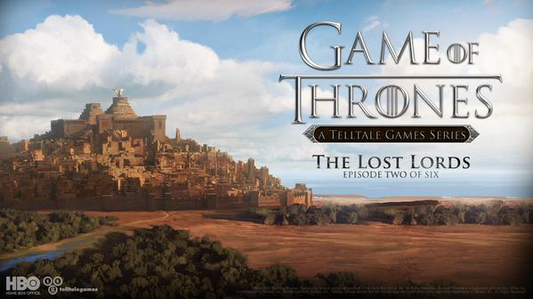 Telltale's Game of Thrones Episode 2 Coming Early February