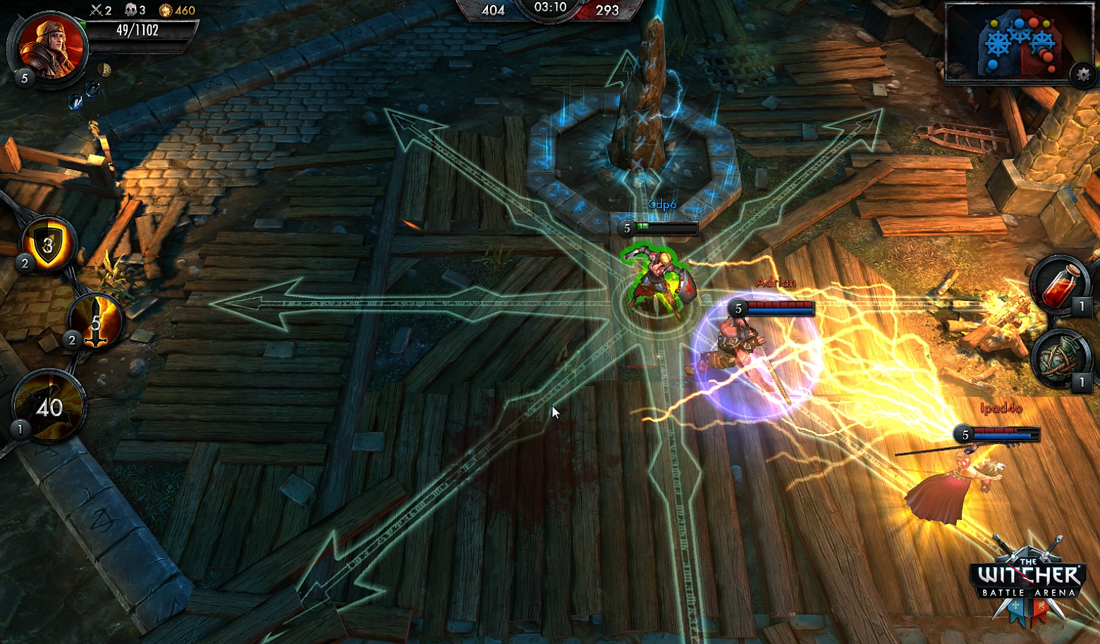 The Witcher's First MOBA, Battle Arena, Released Worldwide