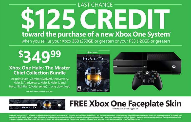 Last Chance to Buy an Xbox One for $225 at GameStop