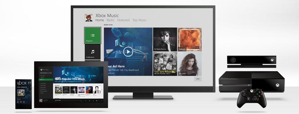 Free Version of Xbox Music to be Axed