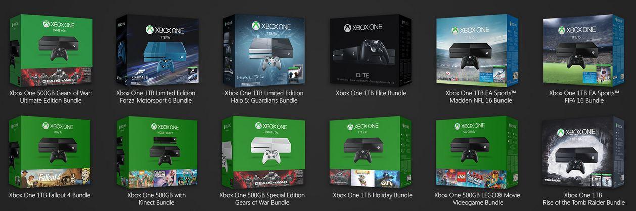 Every New Xbox One Bundle