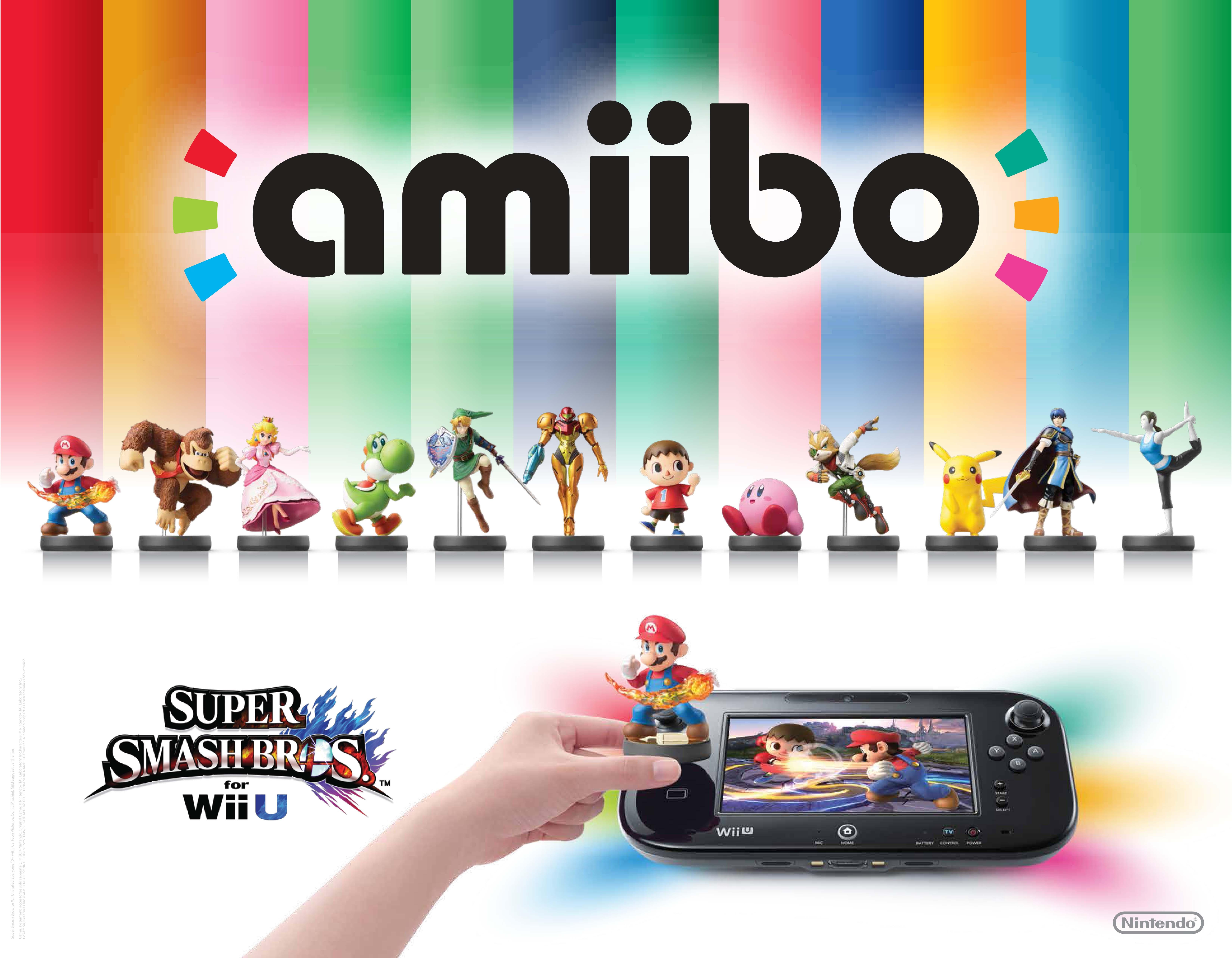 Nintendo's Amiibo Toys Will Sell for $13 Each; $300 Mario Kart 8 Wii U Bundle Announced