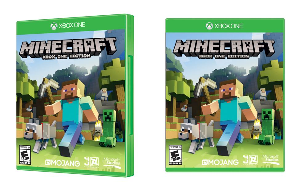 1080p Xbox One Minecraft Hits Retail November 18
