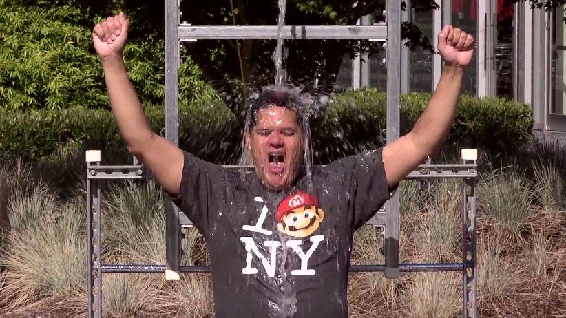 Watch a Half-Dozen Nintendo Executives Take the Ice Bucket Challenge