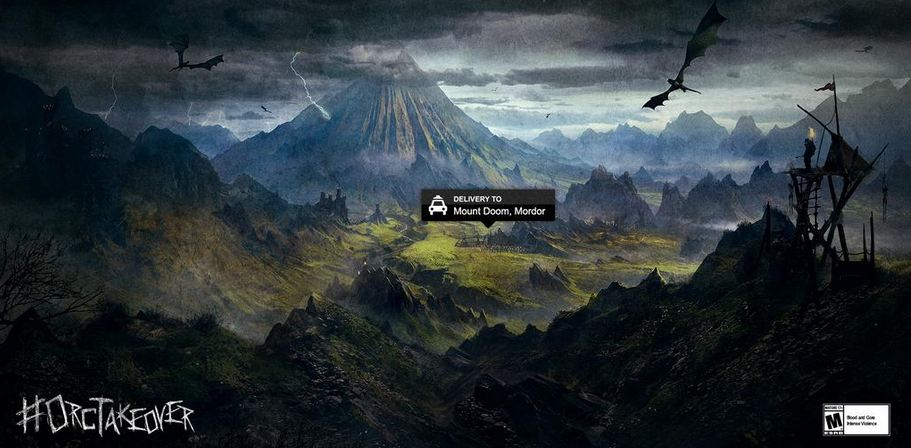 Mischievous Orcs Take Over Shadow of Mordor Twitter Account