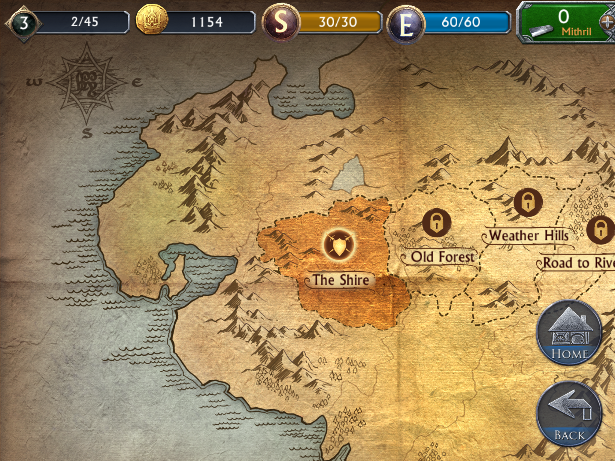 Following Shadow of Mordor Comes a New Lord of the Rings Mobile Game