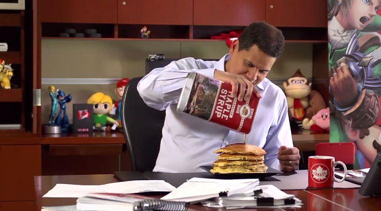Funny Smash Bros. Ad Reveals Nintendo President's Love of Pancakes
