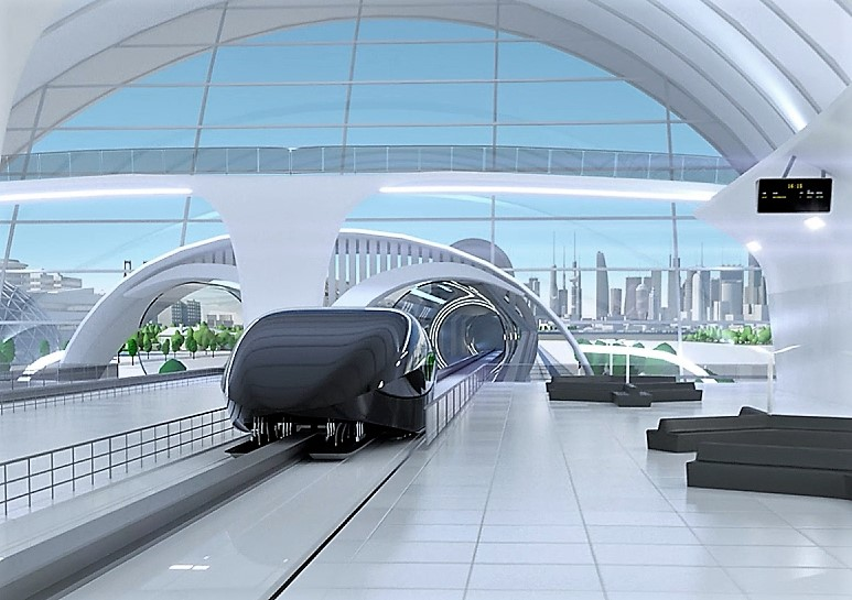 Pacific Hyperloop keeps chugging along amid interest in ultra-high-speed transit