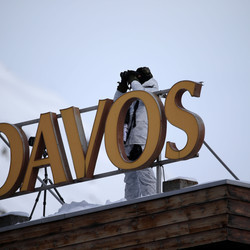 At Davos, Technology CEOs Discuss the Digital Economy