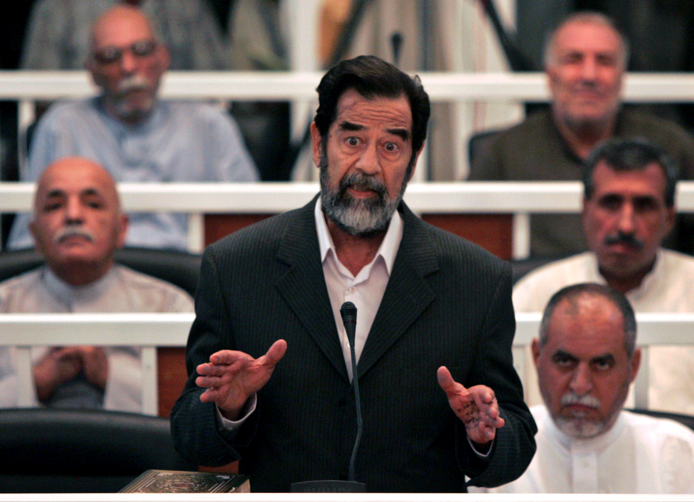 saddam hussein theories of force essay