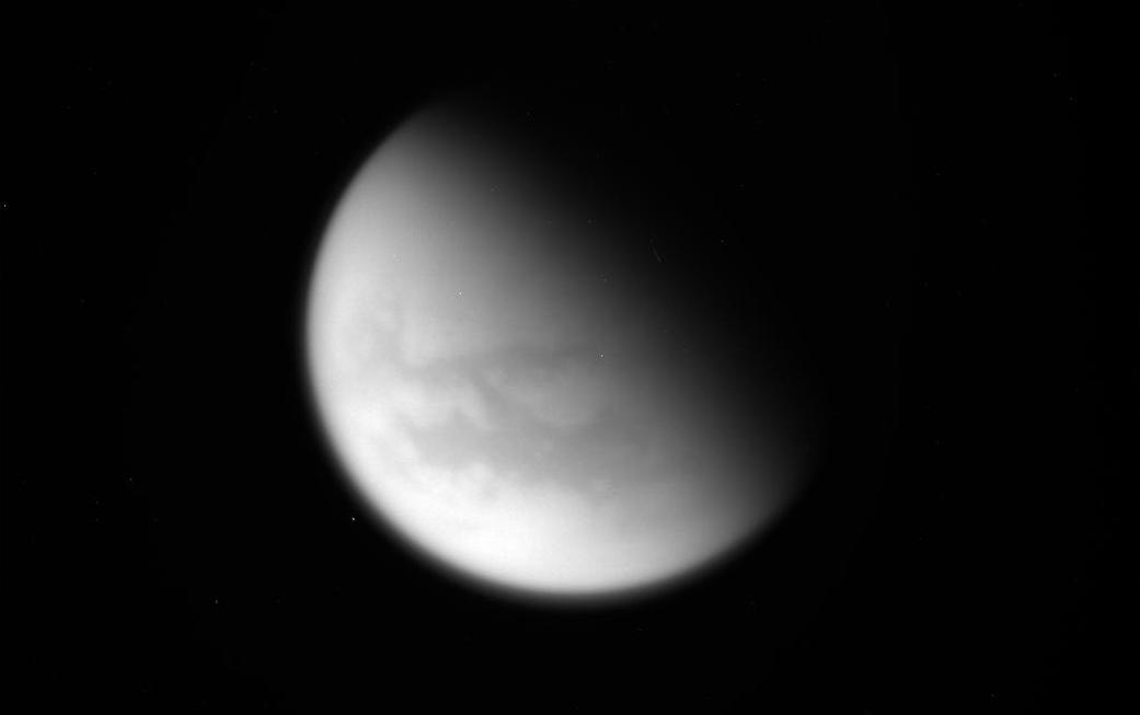 Cassini Makes Last Close Titan Flyby, Captures Canyon on Tethys