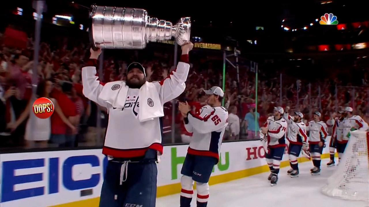 As Washington Capitals Win Stanley Cup, Female Flasher in the Stands Steals the Show