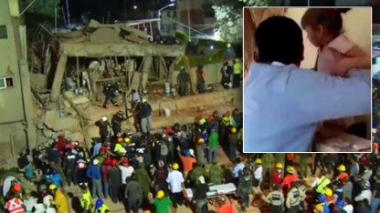 Mexico Schoolgirl's Wiggling Fingers Bring Hope After 2 Others Rescued From Quake Rubble