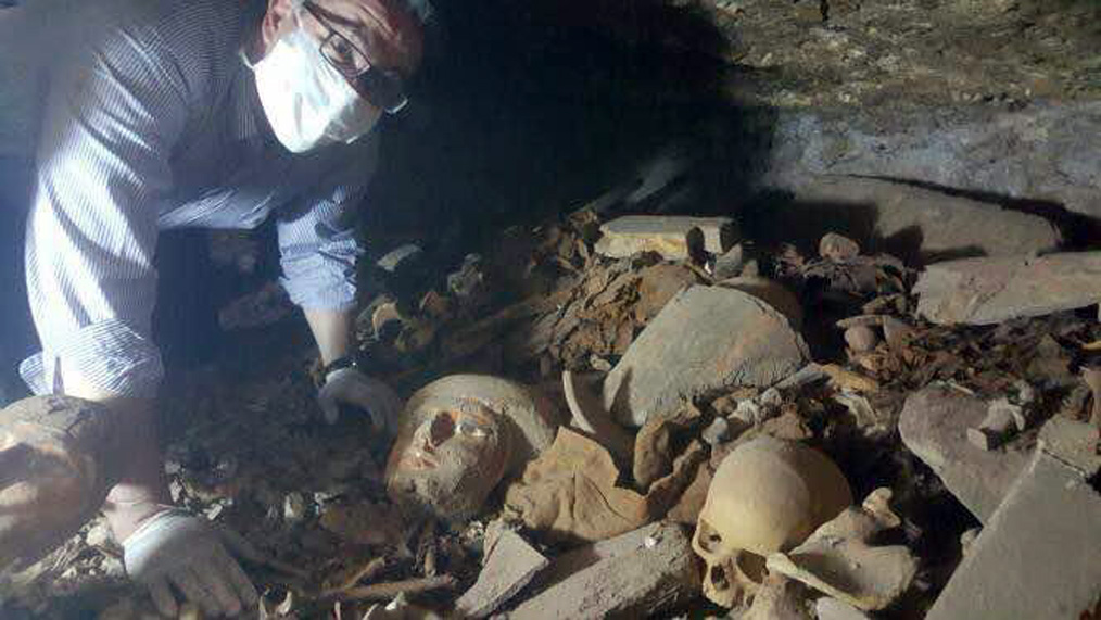 Tomb Full of Mummies Unearthed at Luxor