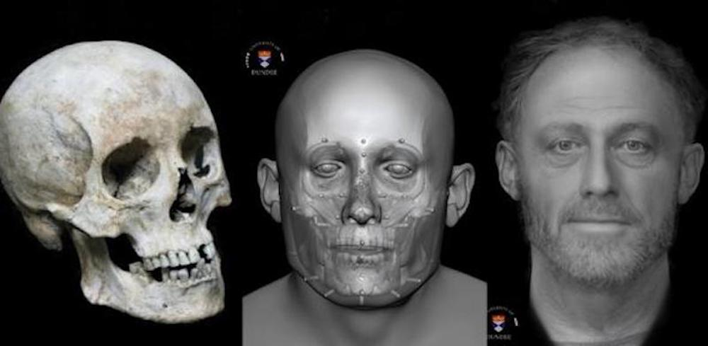 Archaeologists Reconstruct Face of Medieval Man Who Died 700 Years Ago