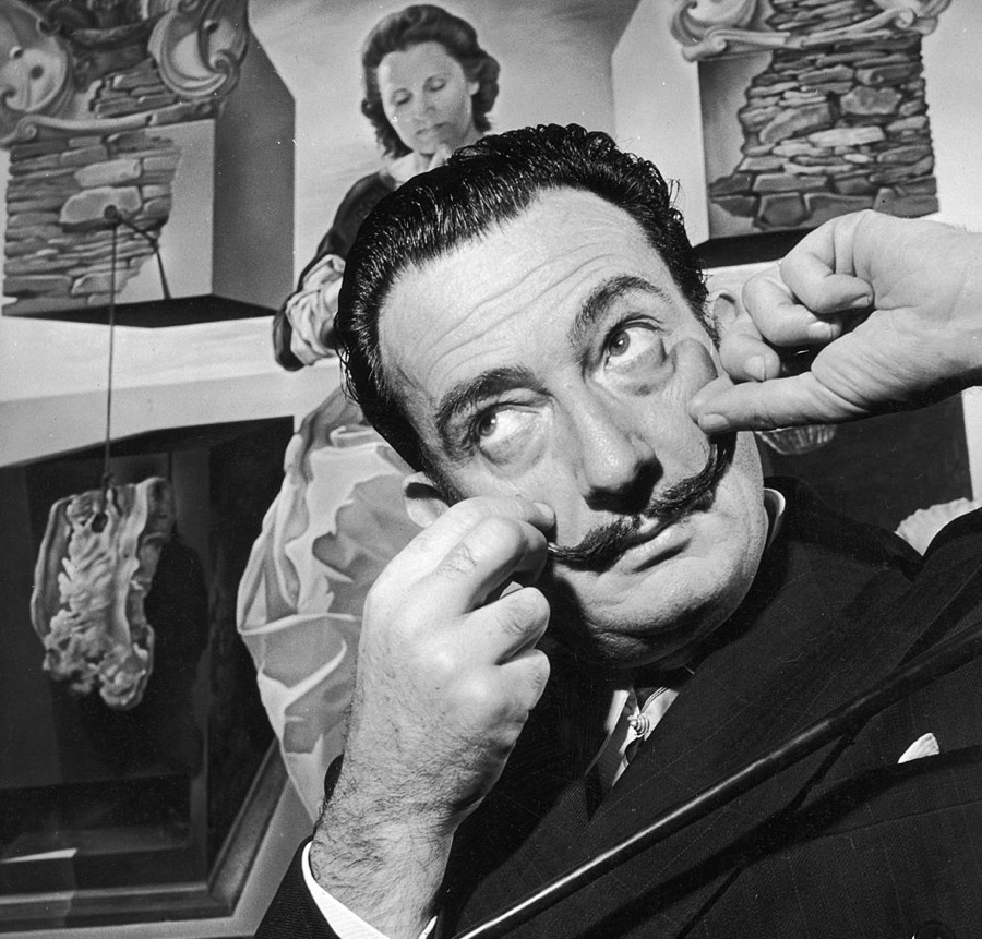 Surreal, Right? Why Dalí's Preserved Mustache Isn't Weird