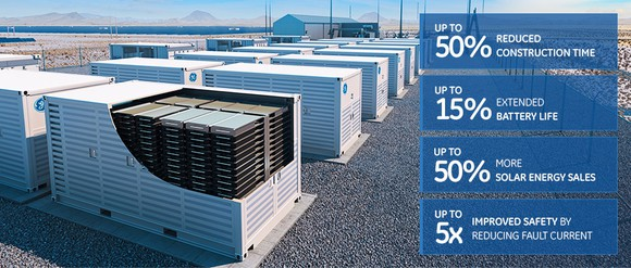 General Electric Energy Storage Offering Built on Speed