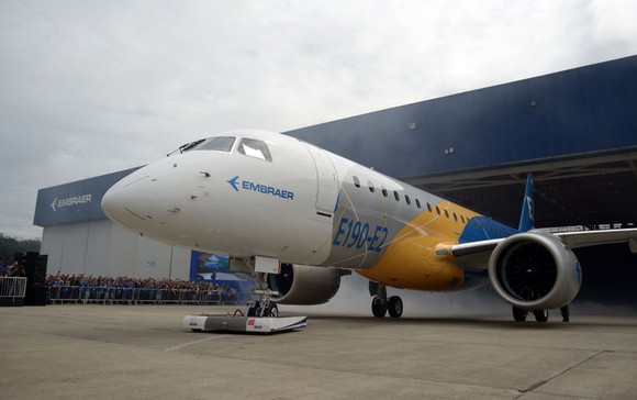 Boeing Kicks the Tires at Embraer