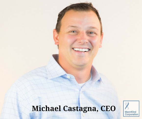 An Interview With MannKind CEO Michael Castagna
