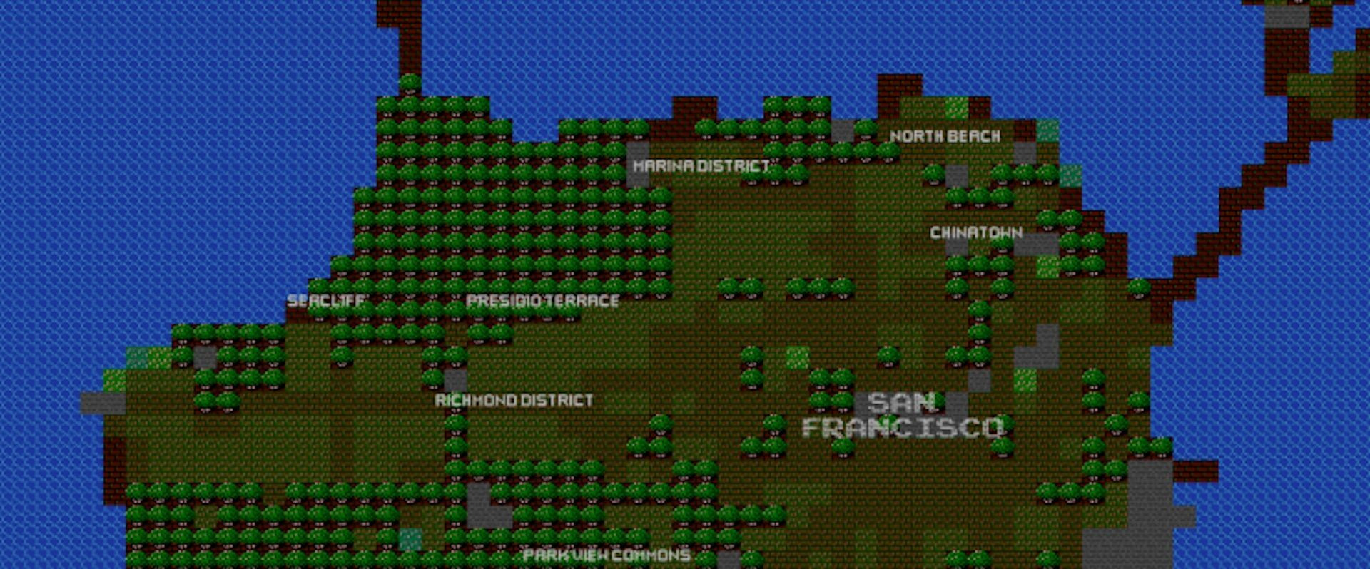 Explore your home city like it's a Nintendo game
