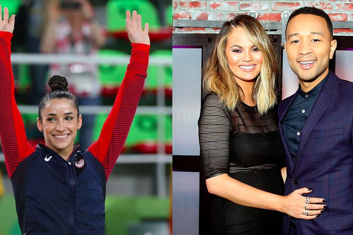 Aly Raisman and Chrissy Teigen just started a beautiful friendship on Twitter