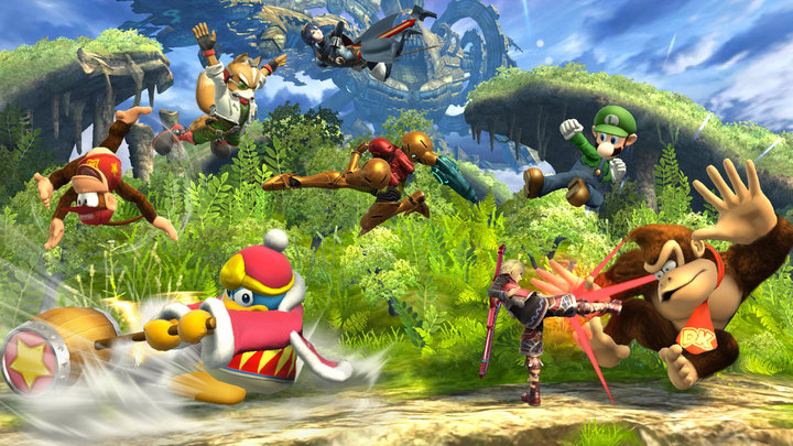 Nintendo confirms 8-player mode in Super Smash Bros. for Wii U