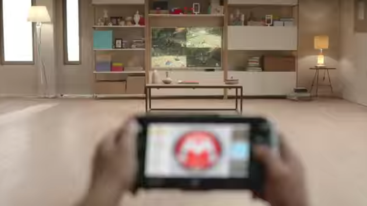 Does this ad show a new Wii U GamePad?