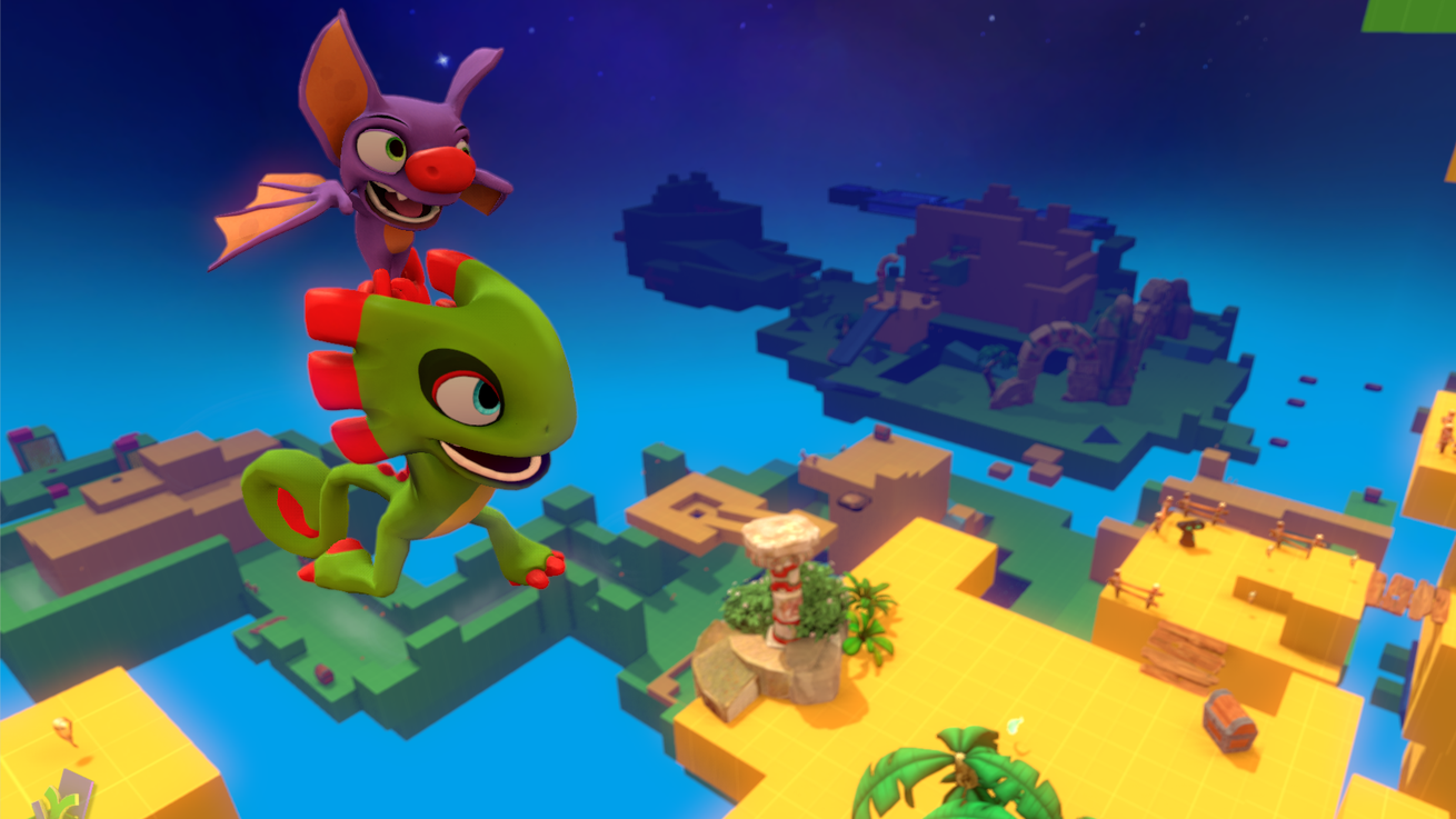 Yooka-Laylee's first demo now available to PC backers