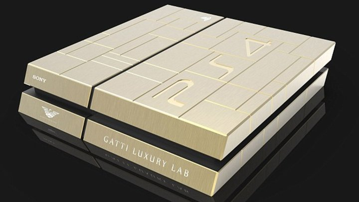 PS4, Xbox One made of gold will set you back more than $13K