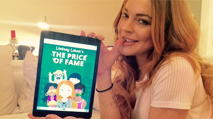 Lindsay Lohan's new video game is funny, trashy and surprisingly self-aware