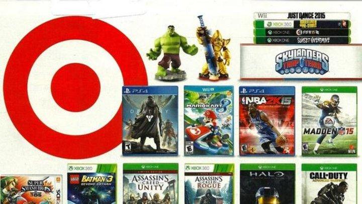 Report: Target, Best Buy kickoff big video game sales Nov. 9
