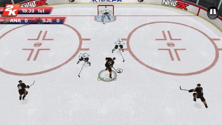 2K Sports brings back NHL 2K — on mobile platforms