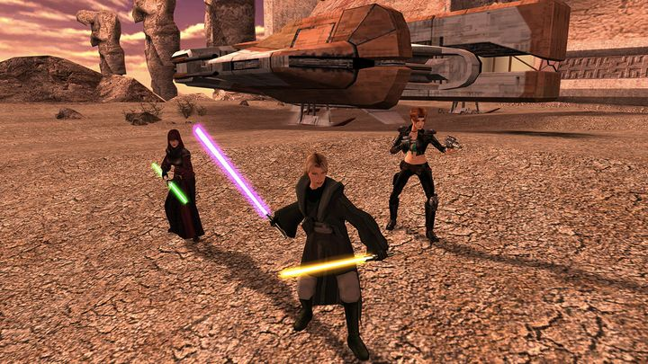 Star Wars: Knights of the Old Republic 2 just got a huge update 10 years later