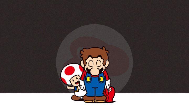 Mario is sad that Nintendo discontinued Club Nintendo