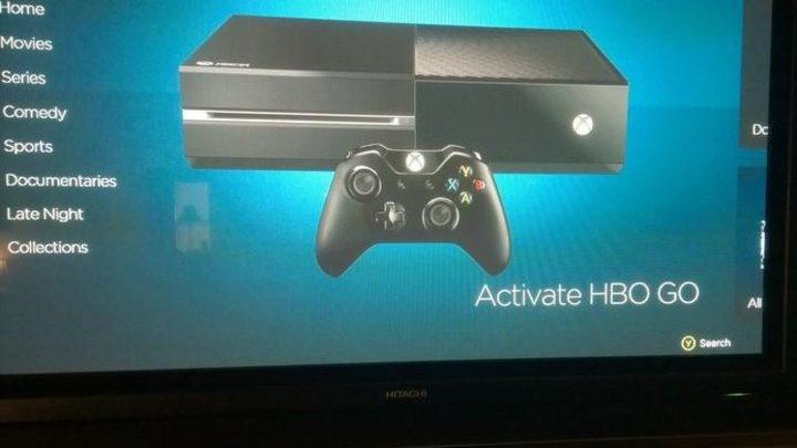 Images of HBO Go on Xbox One slip out