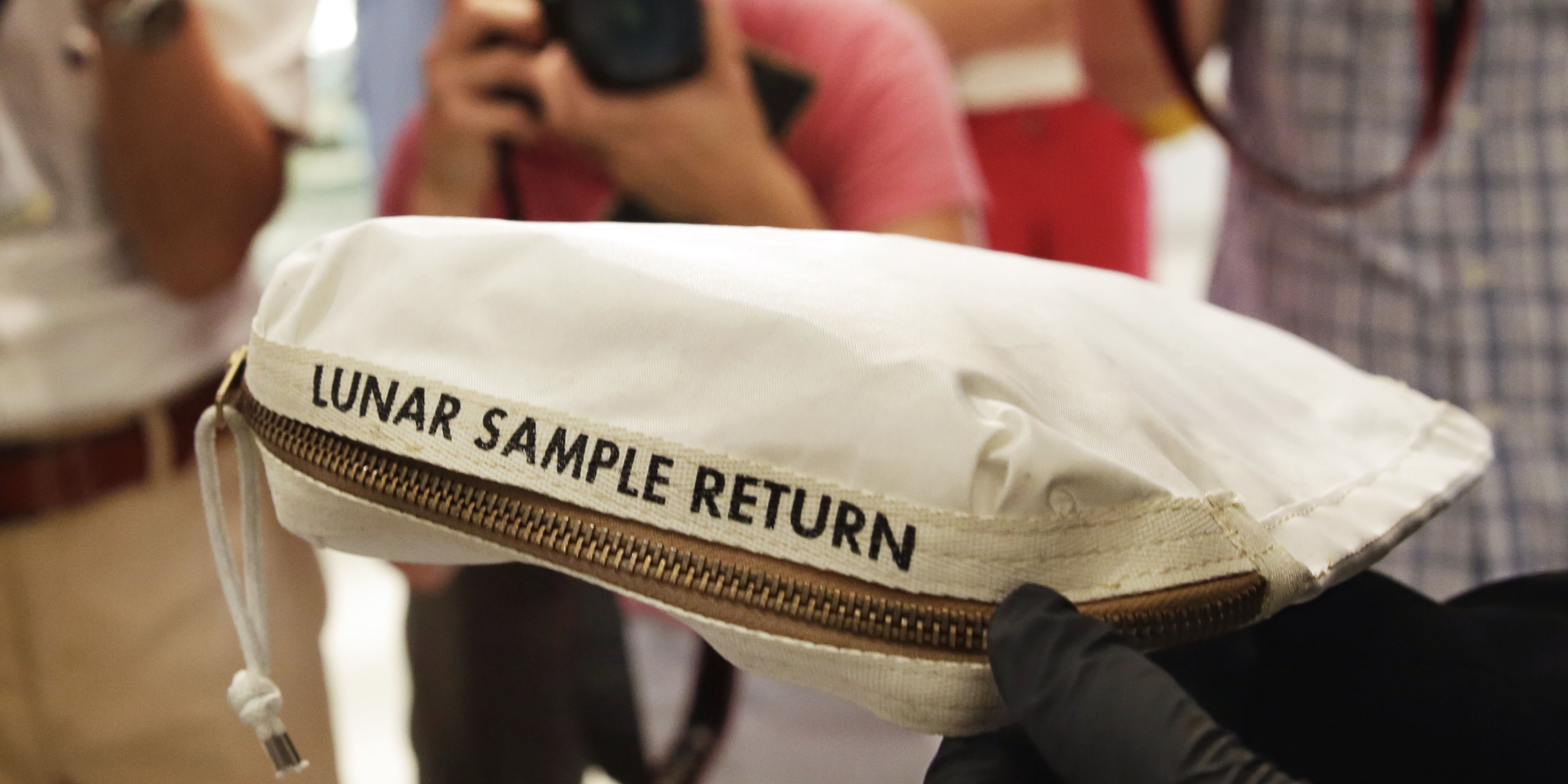 Moon Dust Bag Fetches Nearly $2 Million at Auction