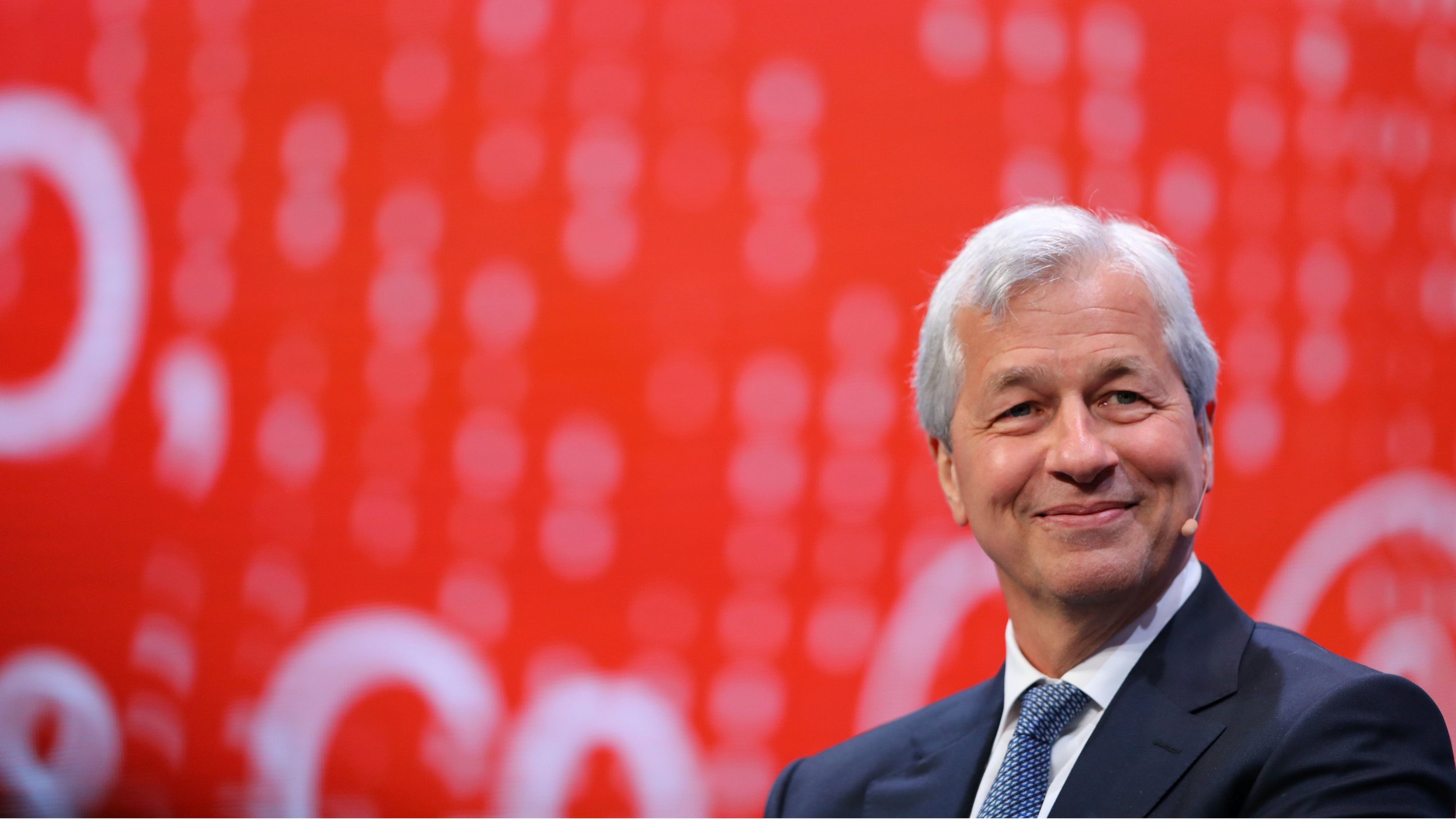 Jamie Dimon couldn't be happier with JPMorgan's $2.4 billion tax hit