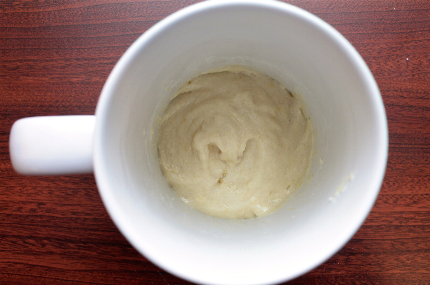 Start your morning with this 5 minute coffee mug cake for 8 tablespoons of butter