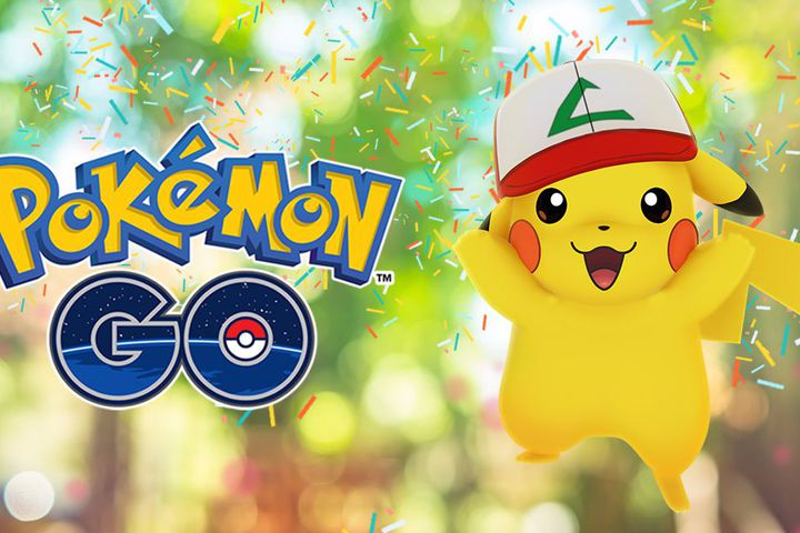 'Pokémon Go' celebrates its first birthday by giving Pikachu a hat