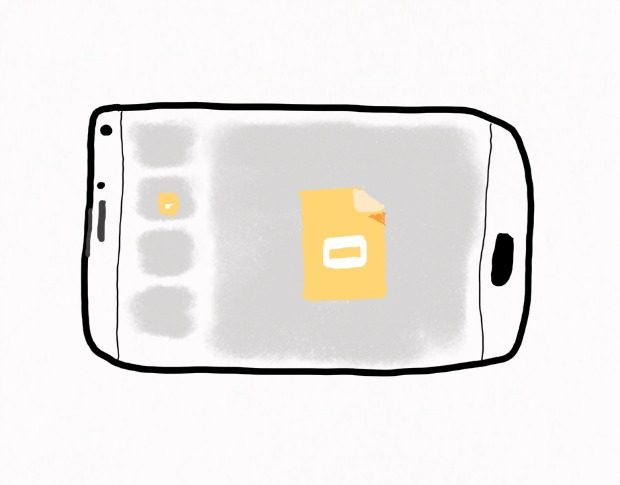 Google Slides on your phone: Insert images