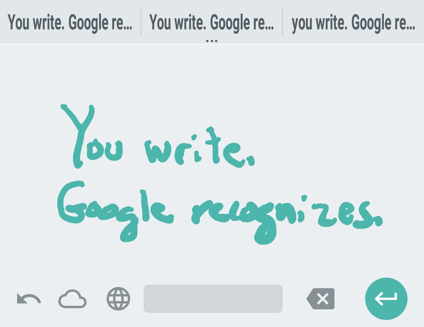 Convert your scribbles to text with Google's Handwriting Input app