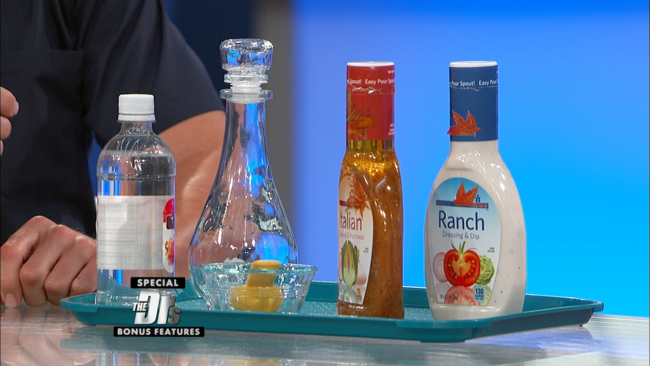 Add Vinegar to Your Salad Dressing to Slim Down!